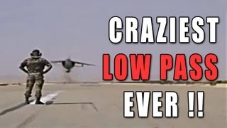 Craziest Low Pass Ever ! MUST SEE !! [French Mirage F1]