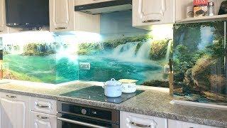 кухня с вентиляционным коробом. Дизайн кухни с выступом в углу. Как спрятать сложные выступы кухни