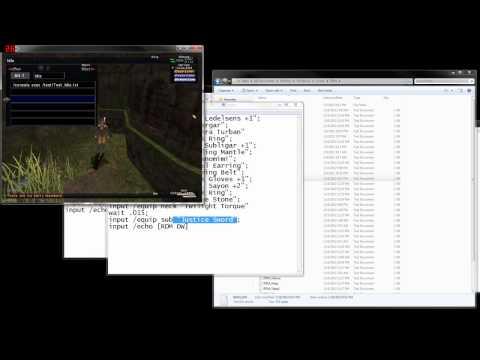 FFXI Windower Macro Guide(w/ Commentary)