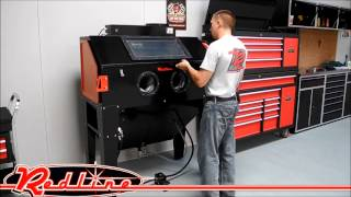 Redline Engineering Sand Blast Media Cabinet