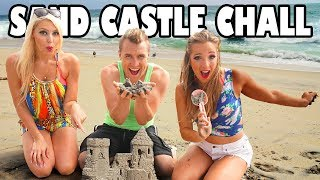 Sand Castle Challenge Building Fun at the Beach. Totally TV