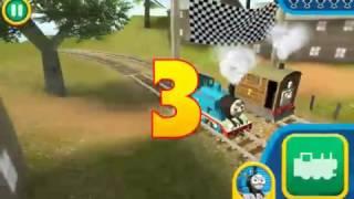 Vidio Untuk Anak : Balapan kereta thomas
