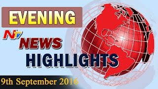 Evening News Highlights 9th September 2016 NTV