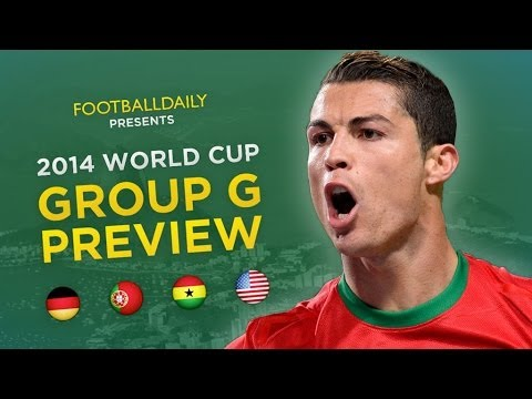 2014 World Cup Group G Preview & Predictions