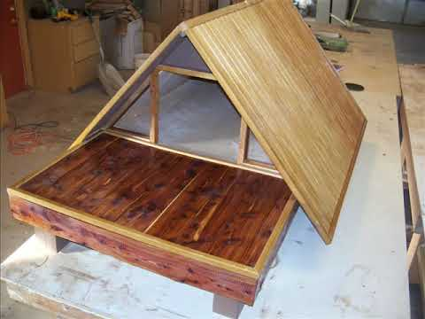 Paul S A Frame All Wood Dog Houses