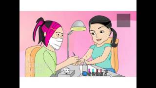 "Check dis out!lol Anjelah Johnson ""Nail Salon"""