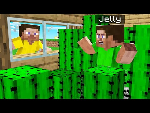 FILLING Jelly's House UP WITH SPIKES! (troll)