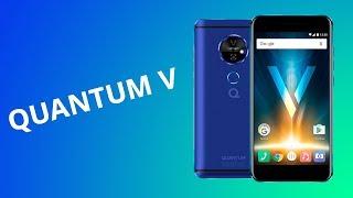 Quantum V: smartphone com projetor a laser [Análise / Review]