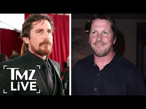 Christian Bale Transformed Into Dick Cheney | TMZ Live