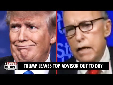 Trump Leaves Top Advisor Out To Dry