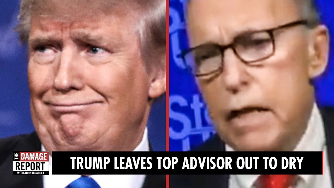 Trump Throws Top Advisor Under the Bus