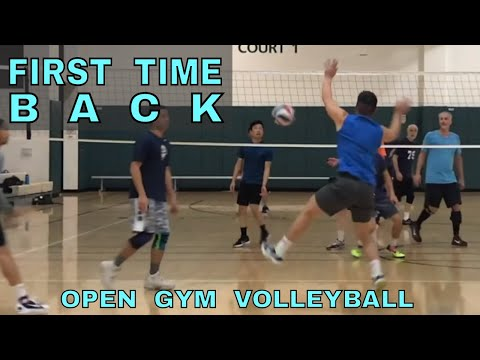 FIRST TIME BACK - Open Gym Volleyball (12/7/17)