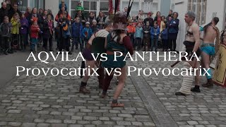 Aquila vs Panthera (Their First Fight!)