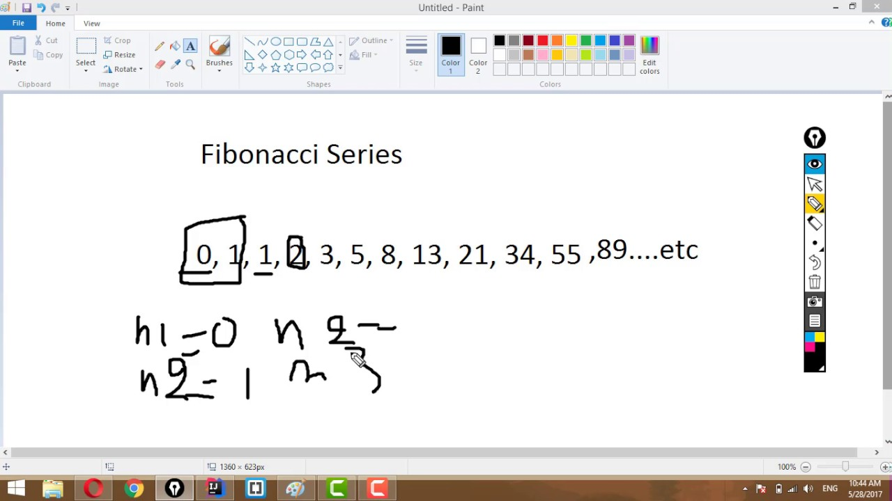 How To Print Fibonacci Series In Java Tutorial