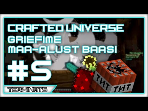 Minecraft | Griefime maa-alust baasi | Crafted Universe | Episood 5
