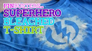 Make Your Own Superhero Bleach T-Shirt // DOES THIS WORK?