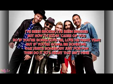 Backstreet Boys  Dont Go Breaking My Heart with LYRICS