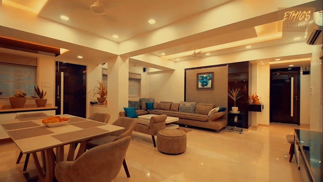 Elegant 2 000 Sq Feet 3 Bhk Designed By Rajesh Ranka In Mumbai Youtube