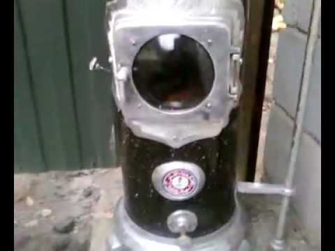 Буржуйка на жидком топливе