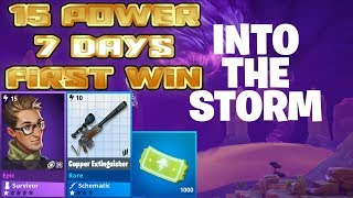 Fortnite 3.5 | Into The Storm 15 power 7 days | First Win | Duration | Rewards