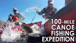 100-Mile Canoe Fishing Expedition in New York