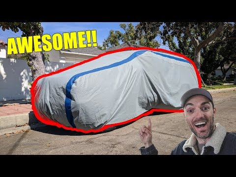 TESTING THE BEST CAR COVER ON AMAZON BY DUCK COVERS!