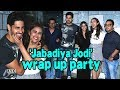 Sidharth, Parineeti at 'Jabadiya Jodi' wrap up part