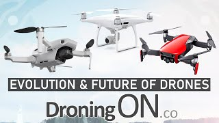 The Evolution Of Drones & What's Coming Next With @DroningON | DansTube.TV