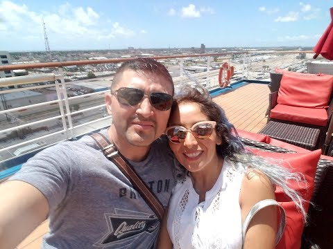 Our first cruise!