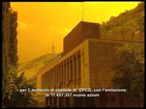 Elektroprivreda Crne Gore - 100 godina / italijanski titl