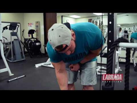 How To - Bent-Over Cable Rear Delt Lateral Raise  - Hunter Labrada