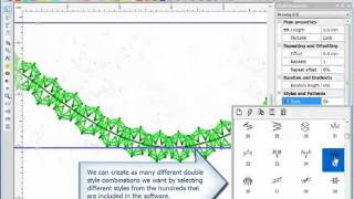 видео ПО Wilcom EmbroideryStudio e3 Designing Professional
