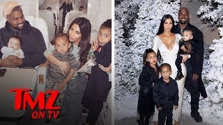 New Surrogate For Kim & Kanye's Baby Number Four | TMZ TV