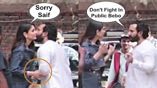 Kareena Kapoor Apologizes With Saif Ali Khan After Fight At Veere Di Wedding Promotion