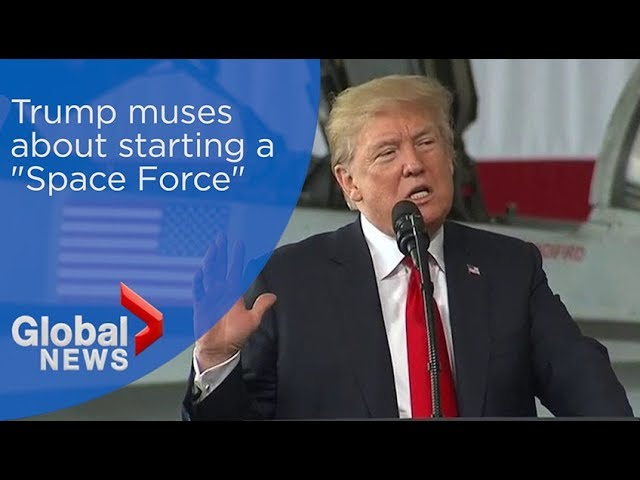 """Image result for Space Force? Create a """"Space Guard"""" instead,"""