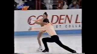 Elena Berezhnaya & Anton Sikharulidze RUS - 1997 European Championships LP