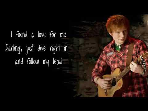 Ed Sheeran-Perfect- Lyrics Video