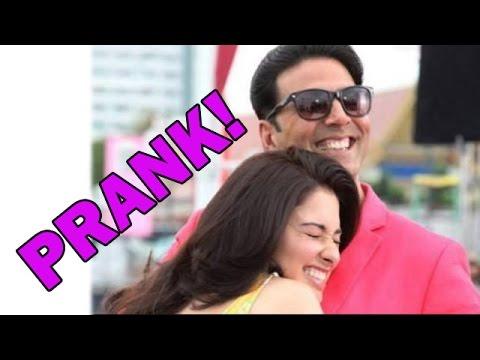 Akshay Kumar's prank on Tammanaah Bhatia| Bollywood News