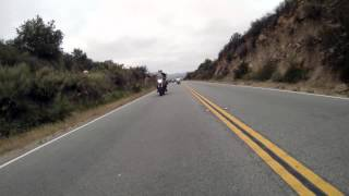 Up Close & Personal w MK - Motocycle Ride - Valley Center - Hellhole Canyon