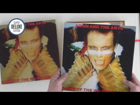 Adam and the Ants / Kings of the Wild Frontier super deluxe unboxing