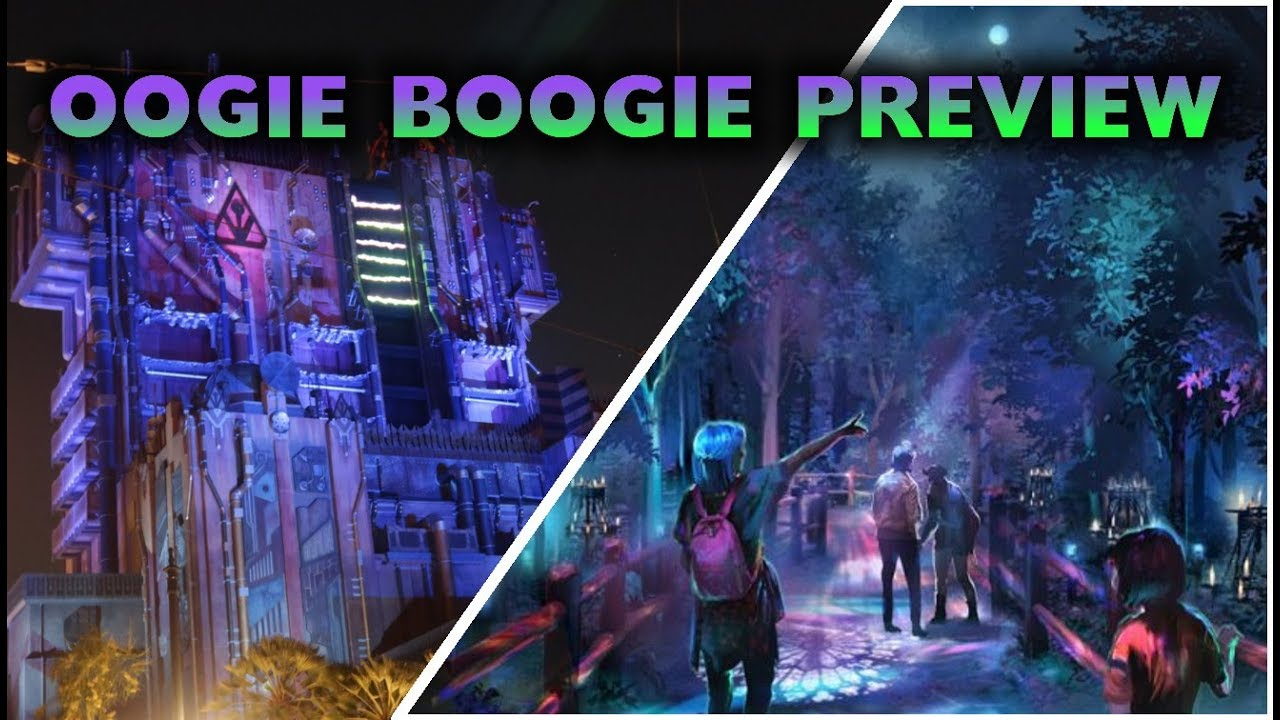 Preview of Oogie Boogie Bash event locations | Disneyland 2019-08-10 Pt. 5
