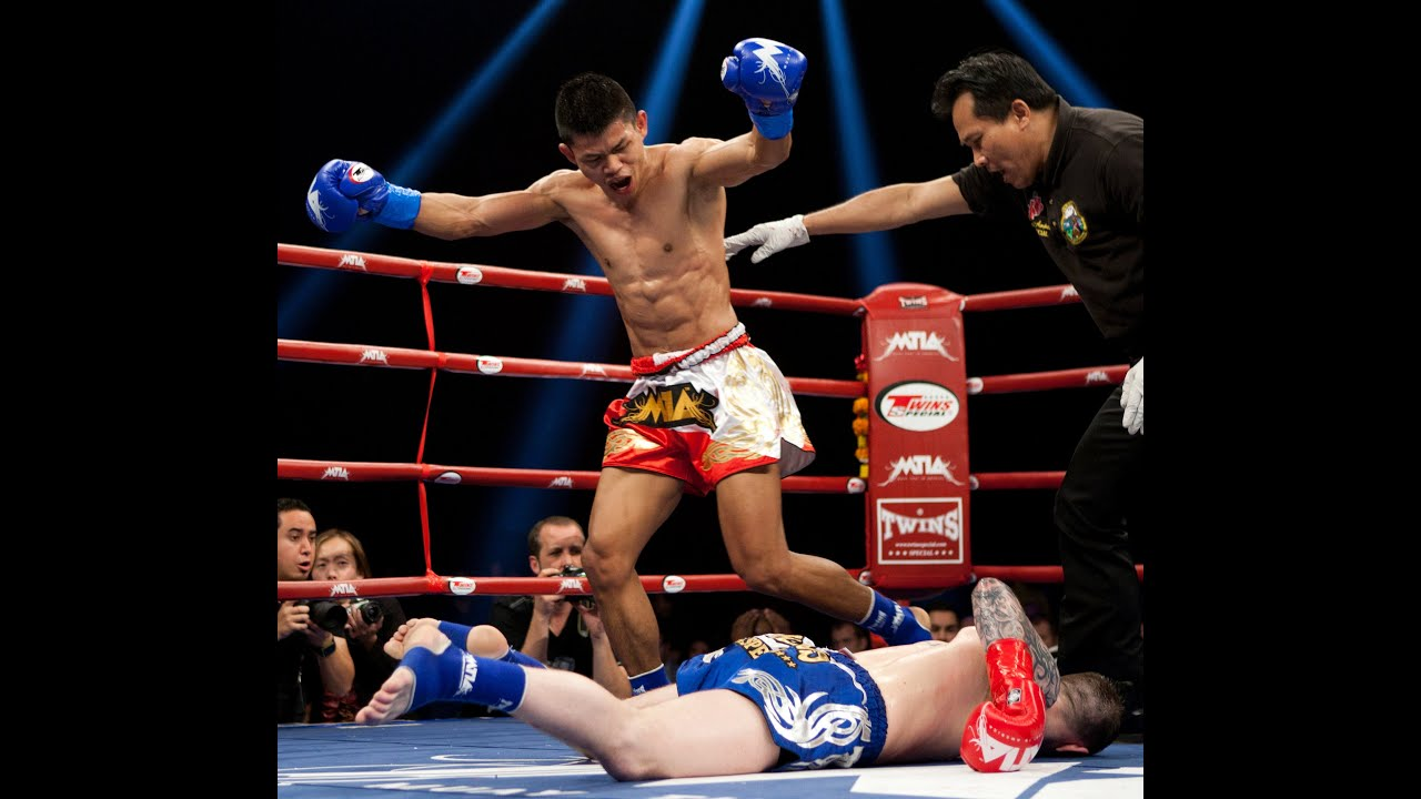 MTIA MUAY THAI IN AMERICA  Andy Howson Vs Thanit