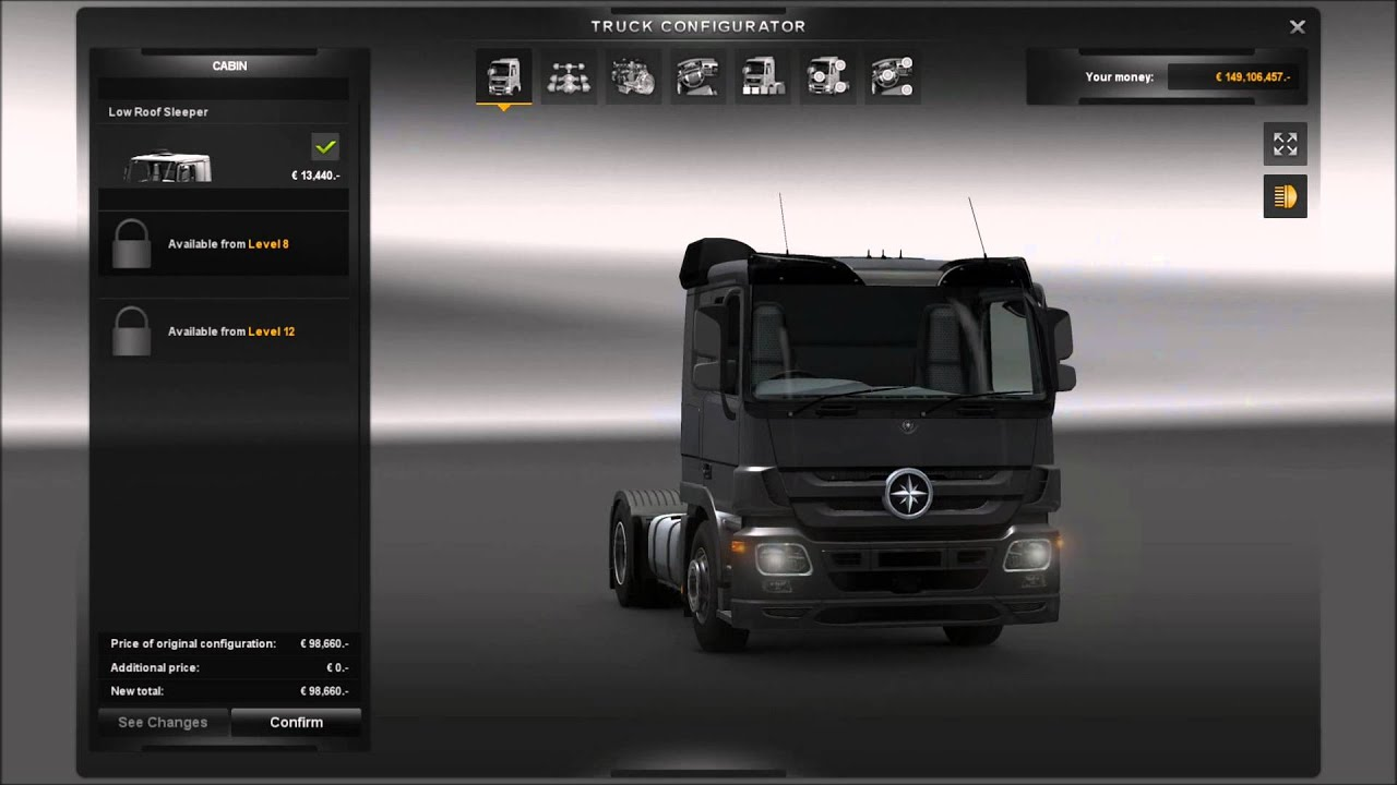 Euro truck simulator 2 majestic truck dealerships youtube for Mercedes benz dealer locations