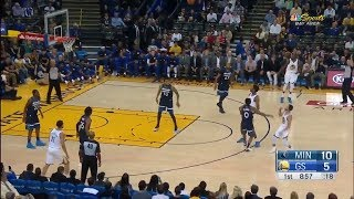 Stephen Curry Goes Human Torch Mode And Can