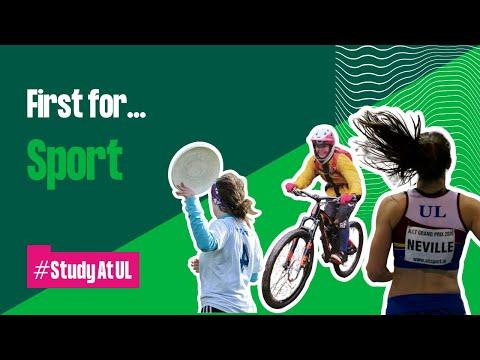 First for... Sport #StudyAtUL