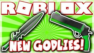 CRAFTING THE NEW GODLY WEAPONS!! *MAGNUM & SWITCHBLADE!* (Roblox Murder Mystery X)