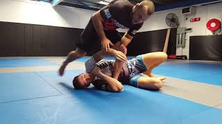How to control your opponent with the kimura grip:  Armbar and backtake (Lachlan Giles)