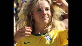 أجمل مشجعات البرازيل في مونديال البرازيل