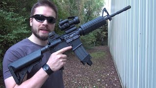 (Airsoft) M4A1 DAS GBLS maximum range test