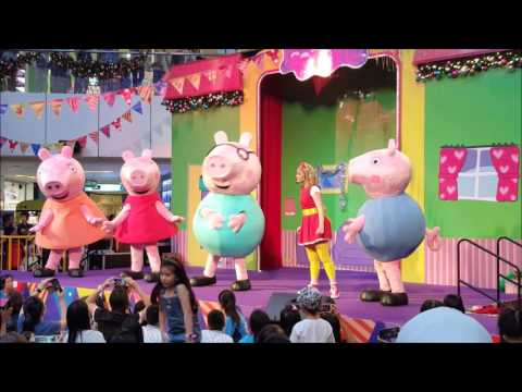 2015 Peppa Pig Musical Show 'live' @United Square Singapore